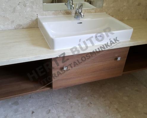 Modern fűrdőszoba bútor